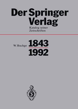 Der Springer-Verlag von Buchge,  Wilhelm