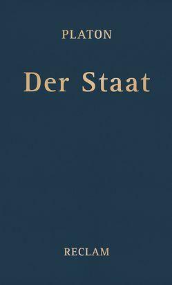 Der Staat von Krapinger,  Gernot, Platon