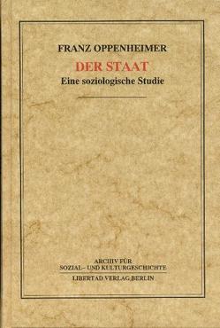 Der Staat von Degen,  Hans J, Oppenheimer,  Franz, Schmück,  Jochen