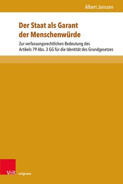 Der Staat als Garant der Menschenwürde von Janssen,  Albert