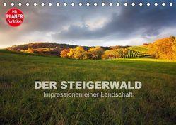 DER STEIGERWALD – Impressionen einer Landschaft (Tischkalender 2019 DIN A5 quer) von Müther,  Volker