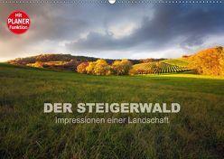DER STEIGERWALD – Impressionen einer Landschaft (Wandkalender 2018 DIN A2 quer) von Müther,  Volker