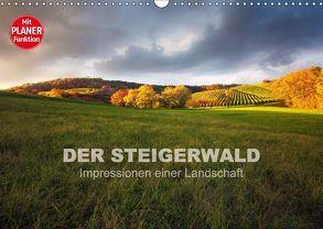 DER STEIGERWALD – Impressionen einer Landschaft (Wandkalender 2018 DIN A3 quer) von Müther,  Volker