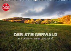 DER STEIGERWALD – Impressionen einer Landschaft (Wandkalender 2019 DIN A2 quer) von Müther,  Volker