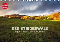 DER STEIGERWALD – Impressionen einer Landschaft (Wandkalender 2019 DIN A3 quer) von Müther,  Volker