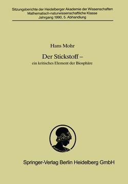 Der Stickstoff von Mohr,  Hans