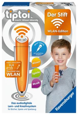 Ravensburger tiptoi 00036 Der Stift – WLAN Edition – Das audiodigitale Lern- und Kreativsystem für Kinder ab 3 Jahren. Audiodateien komfortabel über WLAN herunterladen