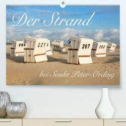 Der Strand bei Sankt Peter-Ording (Premium, hochwertiger DIN A2 Wandkalender 2020, Kunstdruck in Hochglanz) von Werner / Wernerimages,  Peter