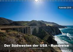 Der Südwesten der USA – Rundreise (Wandkalender 2019 DIN A3 quer) von Hubo - feel4nature.com,  Christian