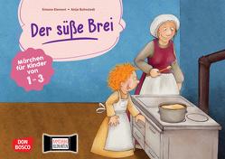 Der süße Brei. Kamishibai Bildkartenset. von Bohnstedt,  Antje, Grimm Brüder