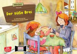 Der süße Brei. Kamishibai Bildkartenset. von Grimm Brüder, Lefin,  Petra