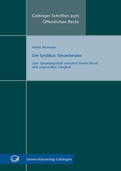 Der Syndikus-Steuerberater von Niemann,  Helen