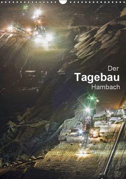 Der Tagebau Hambach (Wandkalender 2019 DIN A3 hoch) von K.Michael Grasser,  Horst