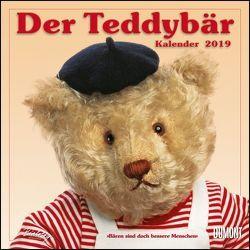 Der Teddybär 2019 – Broschürenkalender – Wandkalender – Format 30 x 30 cm von DUMONT Kalenderverlag