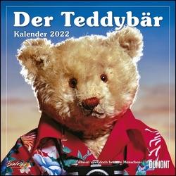 Der Teddybär 2022 – Broschürenkalender – Wandkalender – Format 30 x 30 cm