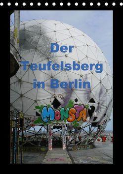 Der Teufelsberg in Berlin 2018 (Tischkalender 2018 DIN A5 hoch) von Schröer,  Ralf