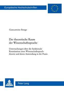 Der theoretische Raum der Wissenschaftssprache von Bongo,  Giancarmine