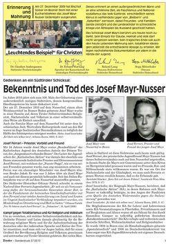 Der Tiroler – Gedenken an ein Südtiroler Schicksal von Andergassen,  Günther, Hartung,  Erhard, Kienesberger,  Peter, Lang,  Roland, Mitterhofer,  Sepp