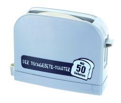 Der Tischgebete-Toaster – silbergrau