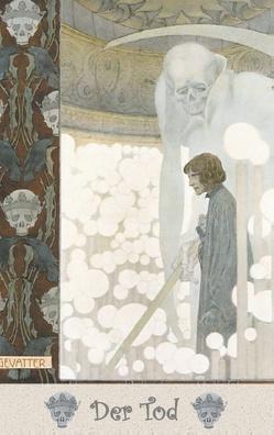 Der Tod – Notizbuch von Lefler,  Heinrich, Potter,  Elizabeth M.