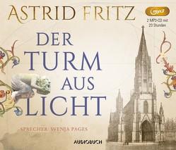 Der Turm aus Licht von Fritz,  Astrid, Pages,  Svenja