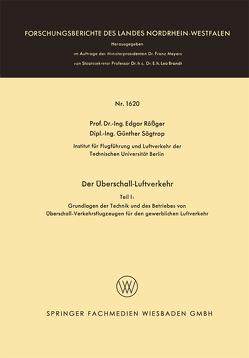 Der Überschall-Luftverkehr von Rößger,  Edgar Rößger Edgar