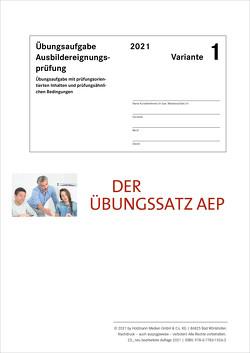 Der Übungssatz Ausbildereignungsprüfung – Variante 1 von Gress,  Bernhard, Semper,  Dr. Lothar