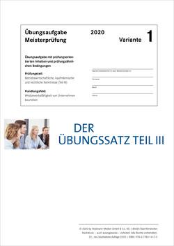 Der Übungssatz Teil III – Variante 1 von Gress,  Bernhard, Semper,  Dr. Lothar