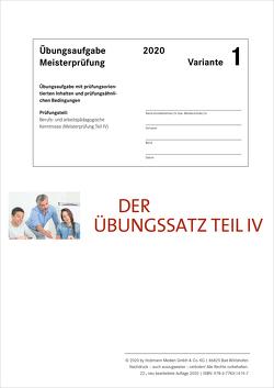 Der Übungssatz Teil IV – Variante 1 von Gress,  Bernhard, Semper,  Dr. Lothar