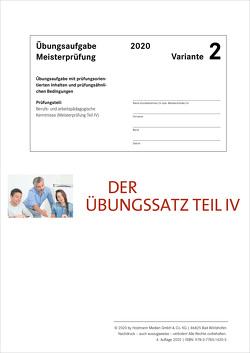 Der Übungssatz Teil IV – Variante 2 von Gress,  Bernhard, Semper,  Dr. Lothar