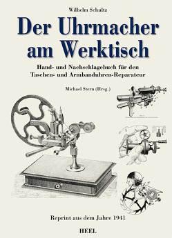 Der Uhrmacher am Werktisch von Schultz,  Wilhelm, Wilhelm Schultz