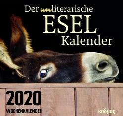 Der (un)literarische Eselkalender (2020) von Burckhardt,  Wolfram