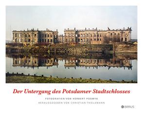 Der Untergang des Potsdamer Stadtschlosses von Posmyk,  Herbert, Thielemann,  Christian
