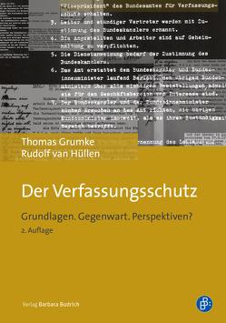 Der Verfassungsschutz von Grumke,  Thomas, van Hüllen,  Rudolf