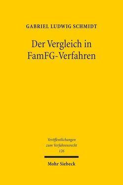 Der Vergleich in FamFG-Verfahren von Schmidt,  Gabriel Ludwig