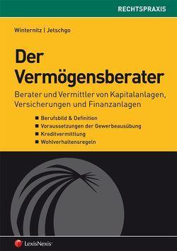 Der Vermögensberater von Jetschgo,  Susanne, Winternitz,  Christian P.