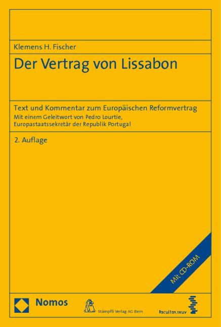Der Vertrag Von Lissabon Von Fischer Klemens H Text Und Kommentar Zu