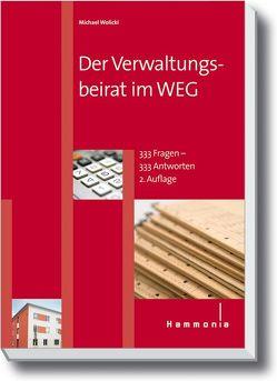 Der Verwaltungsbeirat im WEG von Wolicki,  Michael