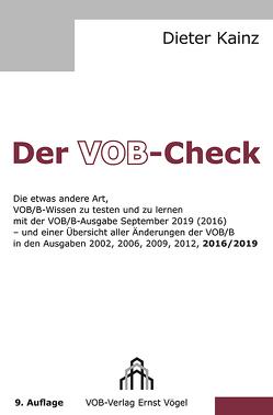 Der VOB-Check von Kainz,  Dieter