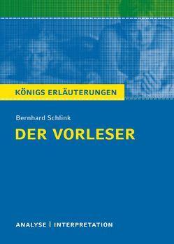 Der Vorleser von Bernhard Schlink. von Möckel,  Magret, Schlink,  Bernhard