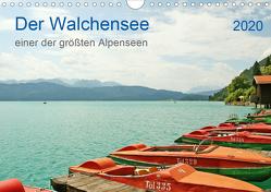 Der Walchensee – einer der größten Alpenseen (Wandkalender 2020 DIN A4 quer) von Hahn,  Joachim