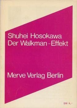 Der Walkman-Effekt von Hosokawa,  Shuhei, Ollrogge,  Birger