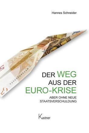 Der Weg aus der Euro-Krise von Kastner,  Dennis, Schneider,  Hannes