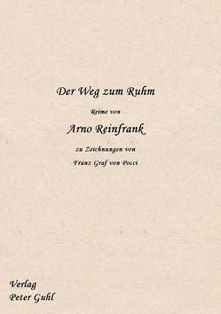 Der Weg zum Ruhm von Guhl,  Peter, Reinfrank,  Arno