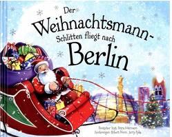 Der Weihnachtsmann-Schlitten fliegt nach Berlin