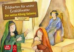 Der weise König Salomo. Kamishibai Bildkartenset. von Hartmann,  Frank, Lefin,  Petra