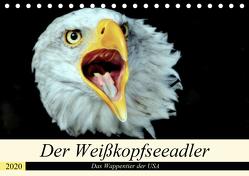 Der Weißkopfseeadler – Das Wappentier der USA (Tischkalender 2020 DIN A5 quer) von Klatt,  Arno