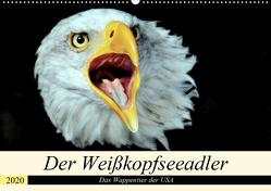Der Weißkopfseeadler – Das Wappentier der USA (Wandkalender 2020 DIN A2 quer) von Klatt,  Arno