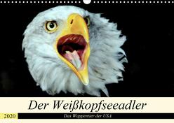 Der Weißkopfseeadler – Das Wappentier der USA (Wandkalender 2020 DIN A3 quer) von Klatt,  Arno