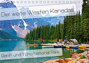 Der weite Westen Kanadas – Banff und Yoho National Park (Tischkalender 2020 DIN A5 quer) von Schaefer,  Nico